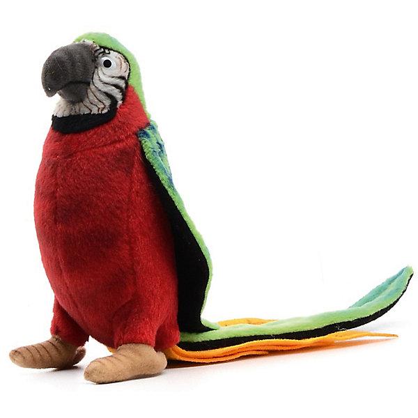 Купить Мягкая игрушка Hansa Попугай красный , 37 см, Филиппины, Унисекс