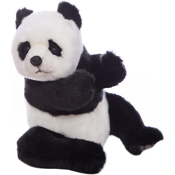 Hansa Мягкая игрушка Hansa Панда (сидящая), 25 см hansa мягкая игрушка медведь пилот 25 см