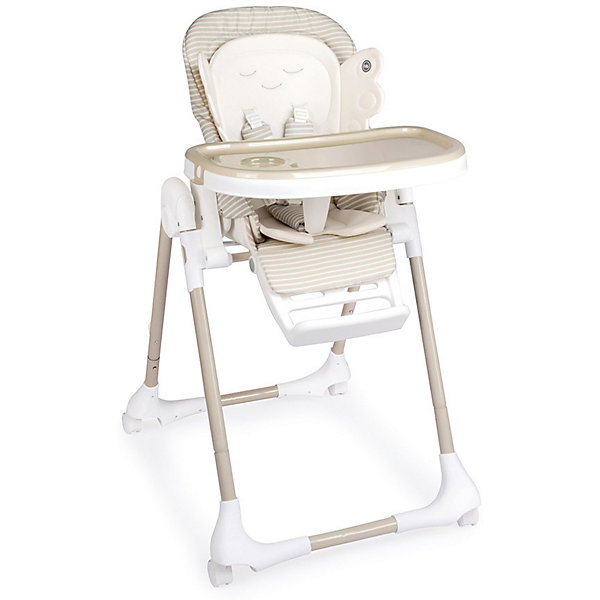 вкладыши и чехлы для стульчика Happy Baby Стульчик для кормления Happy Baby Wingy, бежевый