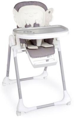 Стульчик для кормления Happy Baby Wingy, серый, артикул:6681549 - Кормление малыша