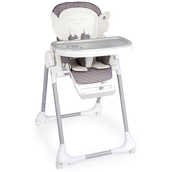 Happy Baby Стульчик для кормления Happy Baby Wingy, серый happy baby happy baby песочник 2 шт серый темно серый