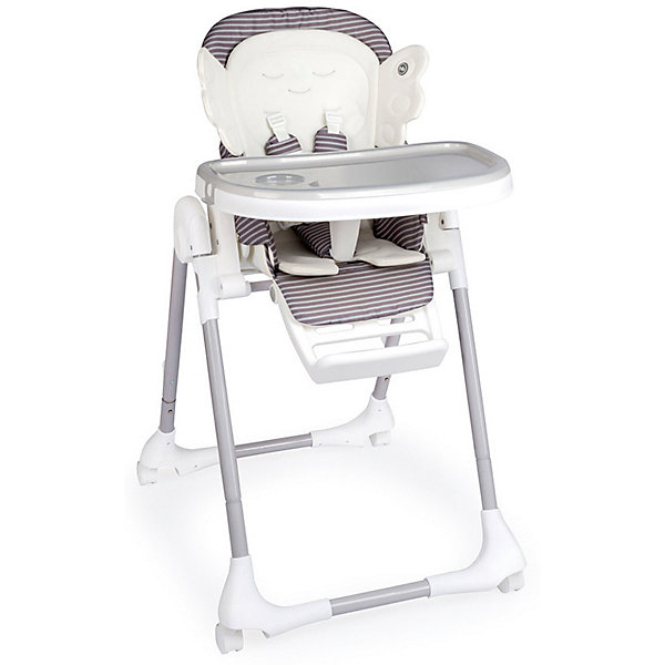 Happy Baby Стульчик для кормления Wingy, серый