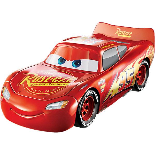 лучшая цена Mattel Машинка Disney Cars «Тачки Молния Маккуин», со сменными деталями и звуковыми эффектами
