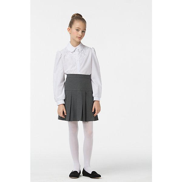 Смена Юбка для девочки Смена silver spoon silver spoon школьная юбка в складку синяя