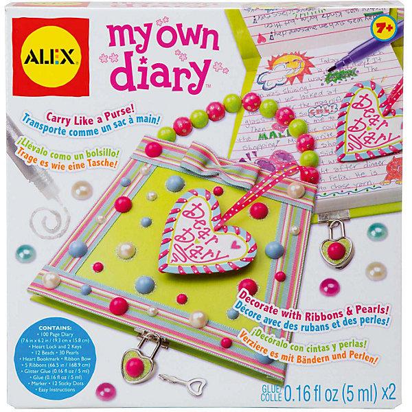 ALEX Набор для декора личного дневника Секреты на замке, Alex набор для валяния alex на круговом станке 391w