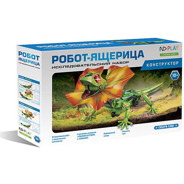 Фото - ND Play Набор для робототехники ND Play Робот-ящерица nd play конструктор nd play робот паук
