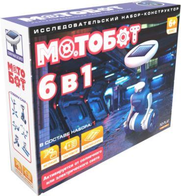 Мотобот, 6 в 1, артикул:6709642 - Робототехника и электроника