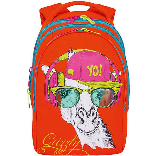Фото - Grizzly Рюкзак школьный Grizzly 3 отделения рюкзак premium street code 3 отделения
