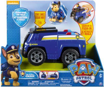 Машина-трансформер Чейз со звуком и светом, Щенячий патруль, Spin Master, артикул:6728787 - Категории