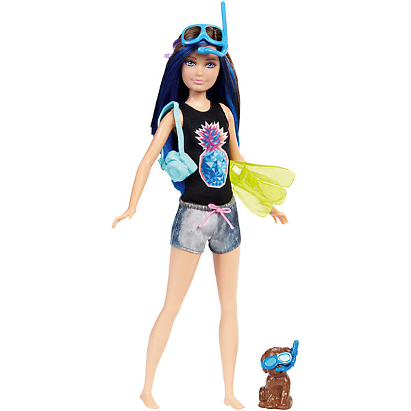 Mattel Кукла Barbie Скиппер из серии «Морские приключения» кукла морские приключения barbie fbd73