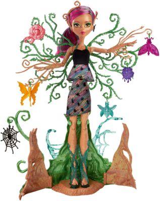 Кукла Monster High Цветочная монстряшка Триса Торнвиллоу, артикул:6739696 - Игрушки по суперценам!