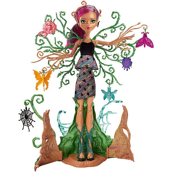 Mattel Кукла Monster High Цветочная монстряшка Триса Торнвиллоу кукла barbie mg166h monster high