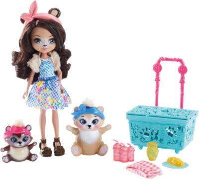 Набор с куклой Enchantimals  Пикник с медведем , артикул:6739703 - Игрушки по суперценам!
