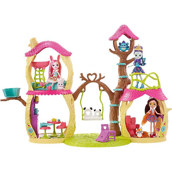 Купить Игровой набор Enchantimals Лесной замок , Mattel, Китай, Женский