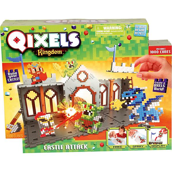 Spin Master QIXELS Набор для творчества Королевство. Захват замка.