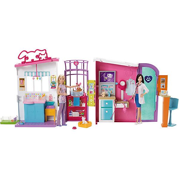 """Купить со скидкой Игровой набор Barbie """"Ветеринарный центр"""""""