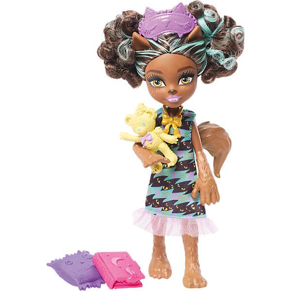 Mattel Мини-кукла Monster High «Семья Монстриков» Пола Вульф, 14 см кукла трансформирующийся монстрик клодин вульф monster high fkp47