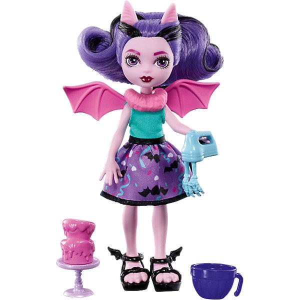 Мини-кукла Monster High «Семья Монстриков» Фанжелика, 14 смМини-куклы<br>Характеристики:<br><br>• возраст: от 6 лет;<br>• материал: пластик, текстиль;<br>• высота куклы: 14 см;<br>• герои: Фанжелика;<br>• особенности: подвижные руки, ноги, мягкие волосы;<br>• комплектация: кукла, 3 аксессуара;<br>• вес в упаковке: 175 гр.;<br>• размеры упаковки: 25,5х21,8х4 см;<br>• страна бренда: США.<br><br>Мини-монстряшка Monster High (Монстр Хай) Фанжелика из серии «Семья Монстриков» одета в оригинальный наряд, а ее волосы собраны в хвостик на затылке. В комплект входят тематические аксессуары, а небольшие размеры куклы позволят всюду брать ее с собой.<br><br>Мини-куклу Monster High (Монстр Хай) «Семья Монстриков», Фанжелика, 14 см можно приобрести в нашем интернет-магазине.<br>Ширина мм: 205; Глубина мм: 154; Высота мм: 50; Вес г: 101; Возраст от месяцев: 72; Возраст до месяцев: 120; Пол: Женский; Возраст: Детский; SKU: 6746584;
