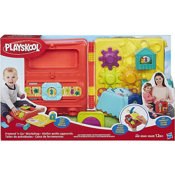 Hasbro Моя первая мастерская возьми с собой, PLAYSKOOL, Hasbro hasbro игрушка каталка playskool возьми с собой мини щенок