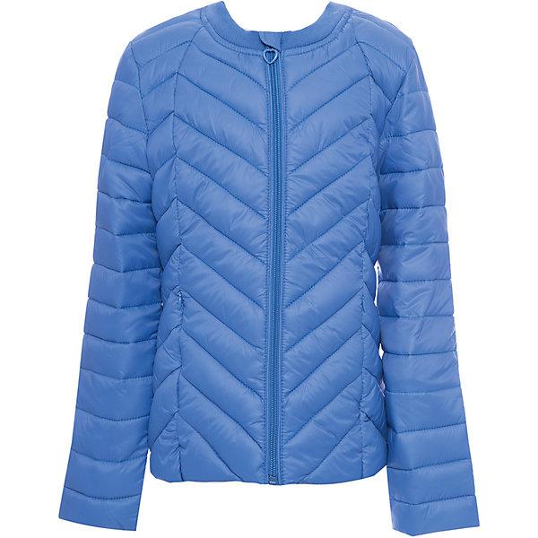 Куртка текстильная для девочки ScoolВерхняя одежда<br>Куртка текстильная для девочки Scool<br>Практичная утепленная стеганая куртка прекрасно подойдет для прогулок в прохладную погоду. Модель с удлиненной спинкой. Горловина из мягкой трикотажной резинки. Специальный карман для фиксации бегунка на молнии не позволит застежке травмировать нежную детскую кожу. Подкладка куртки из яркой ткани с цветочным рисунком.Преимущества: Модель из яркой ткани с водоотталкивающей пропиткойСветоотражающие элементы на рукаве и по низу изделияВшивные карманы на молнии<br>Состав:<br>Верх: 100% нейлон, подкладка: 100% полиэстер, наполнитель: 100% полиэстер, 150 г<br>Ширина мм: 356; Глубина мм: 10; Высота мм: 245; Вес г: 519; Цвет: синий; Возраст от месяцев: 132; Возраст до месяцев: 144; Пол: Женский; Возраст: Детский; Размер: 152,146,140,134,128,122,164,158; SKU: 6754662;