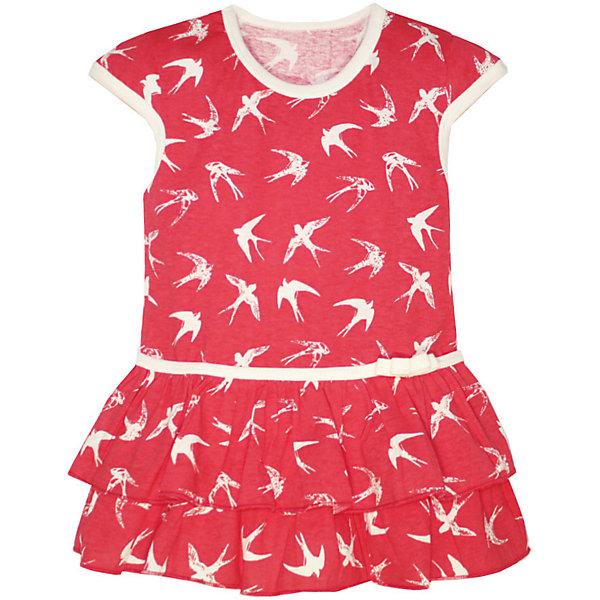 Платье для девочки KotMarKotПлатья и сарафаны<br>Характеристики товара:<br><br>• цвет: розовый<br>• состав ткани: 100% хлопок<br>• сезон: лето<br>• короткие рукава<br>• страна бренда: Россия<br>• комфорт и качество<br><br>Платье Стрижи бренда КотМарКот выполнено из хлопка. Его легко одеть, поскольку модель не имеет застежек. Отличный вариант для летних прогулок на свежем воздухе.<br><br>Детская одежда от российского бренда KotMarKot обеспечит ребенку комфорт.<br><br>Платье KotMarKot (КотМарКот) для девочки можно купить в нашем интернет-магазине.<br>Ширина мм: 236; Глубина мм: 16; Высота мм: 184; Вес г: 177; Цвет: розовый; Возраст от месяцев: 72; Возраст до месяцев: 84; Пол: Женский; Возраст: Детский; Размер: 122,92,116,110,104,98; SKU: 6755175;