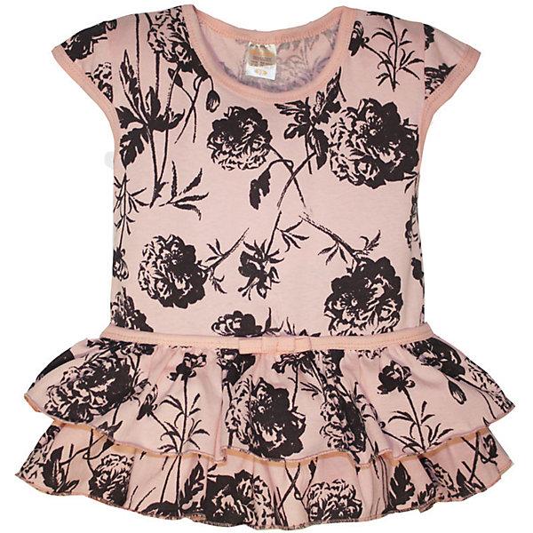 Платье для девочки KotMarKotПлатья и сарафаны<br>Характеристики товара:<br><br>• цвет: розовый<br>• состав ткани: 100% хлопок<br>• сезон: лето<br>• короткие рукава<br>• страна бренда: Россия<br>• комфорт и качество<br><br>Стильное летнее платье для ребенка выполнено из мягкого хлопка. Детское платье легко надевается. <br><br>Известный российский бренд KotMarKot - это стильный продуманный дизайн и неизменно высокое качество исполнения. <br><br>Платье KotMarKot (КотМарКот) для девочки можно купить в нашем интернет-магазине.<br>Ширина мм: 236; Глубина мм: 16; Высота мм: 184; Вес г: 177; Цвет: розовый; Возраст от месяцев: 18; Возраст до месяцев: 24; Пол: Женский; Возраст: Детский; Размер: 92,122,116,110,104,98; SKU: 6755189;