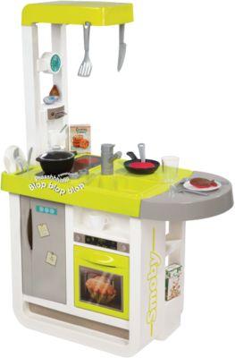 Электронная кухня Smoby  Cherry  с аксессуарами, звук, артикул:6757355 - Сюжетно-ролевые игры