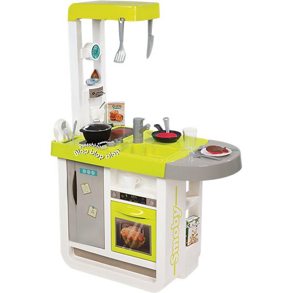 Smoby Электронная кухня Cherry с аксессуарами, звук