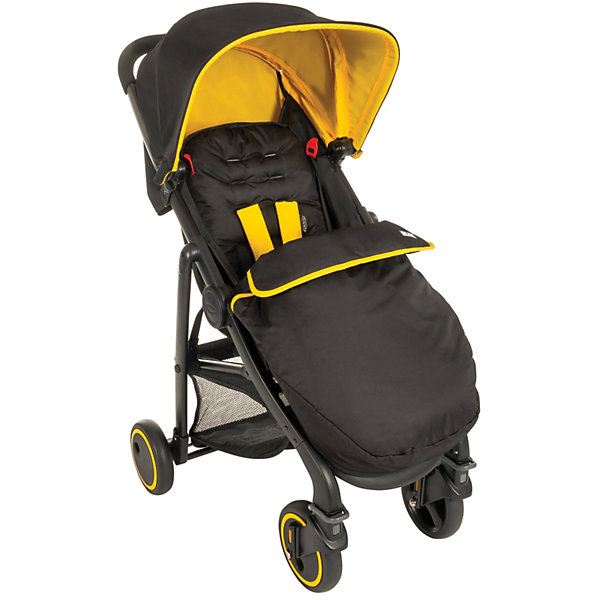 Graco Прогулочная коляска Blox, Graco, черный с желтым graco contour electra bear trail
