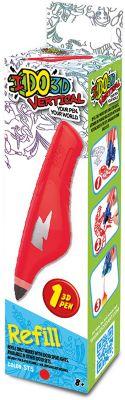 Картридж для 3Д ручки  Вертикаль , красный, артикул:6758206 - 3D ручки