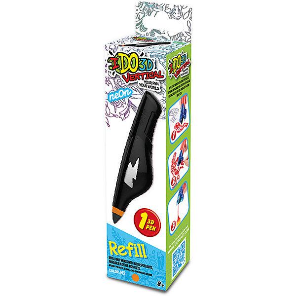 Купить Картридж для 3Д ручки Вертикаль , неоновый оранжевый, REDWOOD 3D, Китай, Унисекс