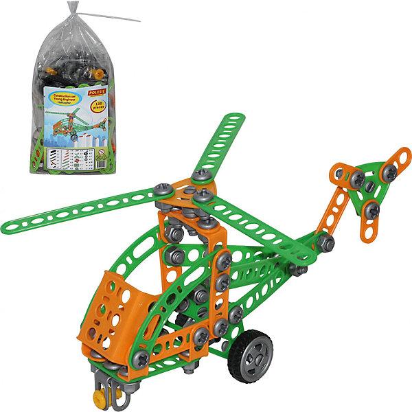 Polesie Конструктор Изобретатель - Вертолёт №1, 130 элементов, Полесье полесье конструктор юный путешественник вертолет