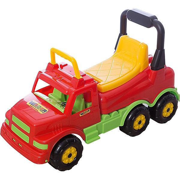 Polesie Каталка-автомобиль Буран №1, красная, Полесье каталка детская полесье полесье каталка буран 1 красная