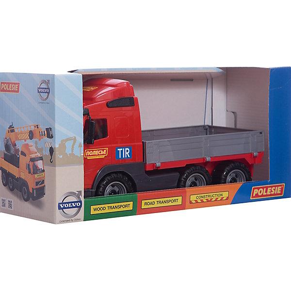 Polesie Автомобиль бортовой Volvo, Полесье игрушки для ванны полесье паром балтик автомобиль мини 4 шт