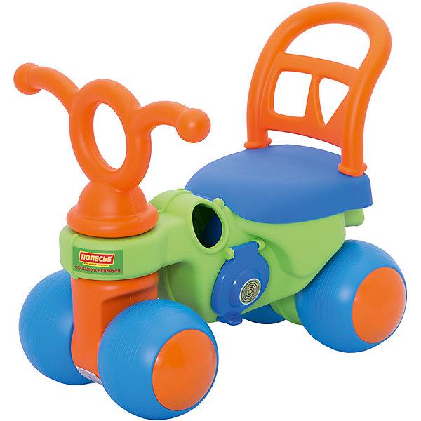 Каталка Крокодильчик, ПолесьеКаталки для малышей<br>Характеристики товара:<br><br>• возраст: от 12 месяцев<br>• цвет: зеленый, синий, оранжевый.<br>• материал: высококачественная пластмасса, металл.<br>• размер упаковки: 50х35х43 см.?<br>• вес: 2.1 кг.<br><br>Каталка «Крокодильчик» непременно позабавит малыша во время прогулок. В ней будет очень удобно и весело кататься! <br><br>Малыш может ездить на каталке «Крокодильчик» самостоятельно, отталкиваясь ногами.<br>3-х колесная каталка «Крокодильчик» имеет широкие колеса и основания для спинки, что гарантирует комфорт и безопасность ребенка.<br><br>Каталку Крокодильчик, Полесье можно купить в нашем интернет-магазине.<br>Ширина мм: 495; Глубина мм: 350; Высота мм: 425; Вес г: 2365; Возраст от месяцев: 12; Возраст до месяцев: 2147483647; Пол: Унисекс; Возраст: Детский; SKU: 6760761;