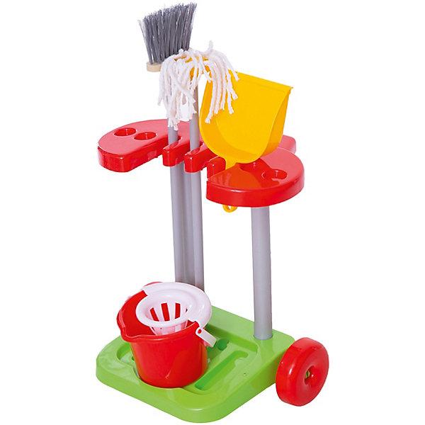 Фото - Полесье Набор Помощница-2, Полесье полесье игрушечная тележка supermarket 1 с набором продуктов цвет в ассортименте