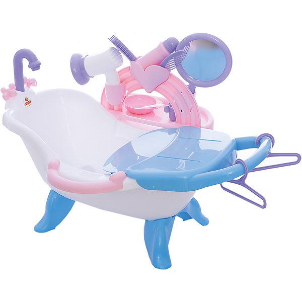 Polesie Набор для купания кукол №2 с аксессуарами, Полесье игра полесьесервировочный столик 4960