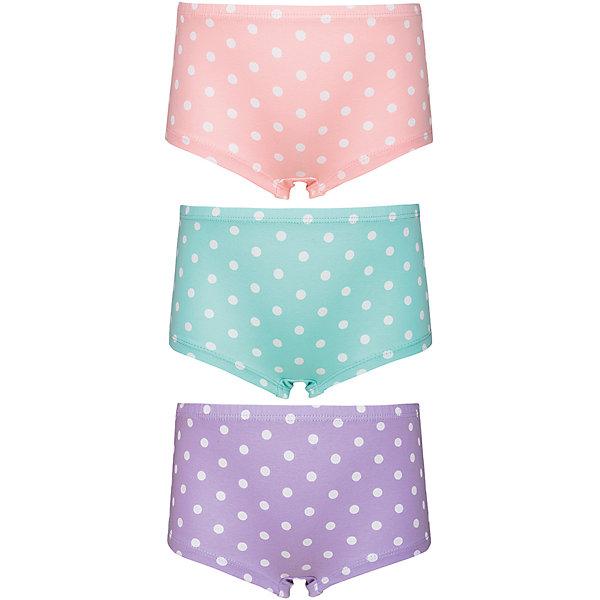 Baykar Трусы (3 шт.) для девочки Baykar трусы шорты для девочки baykar цвет мультиколор 3 шт n5520 22 размер 110 116