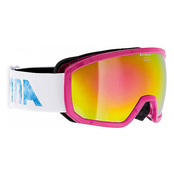 Alpina Горнолыжные очки Alpina SCARABEO JR. MM transl. Pink MM pink sph. S3/MM pink sph. S3 alpina testido green matt black blue mirror s3