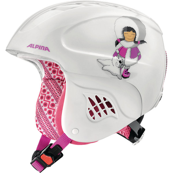 Alpina Зимний шлем Alpina CARAT eskimo-girl цена