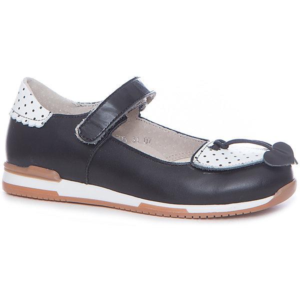 Купить Туфли для девочки TAPiBOO, Россия, черный, 31, 35, 34, 33, 32, Женский