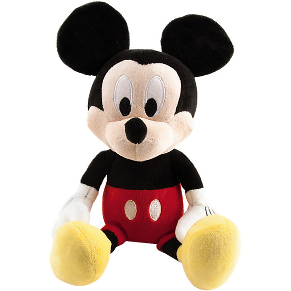 IMC Toys Disney Мягкая игрушка Микки и весёлые гонки: Микки Маус (34 см, звук) imc toys disney мягкая игрушка микки и весёлые гонки поцелуй от микки 34 см интеракт звук