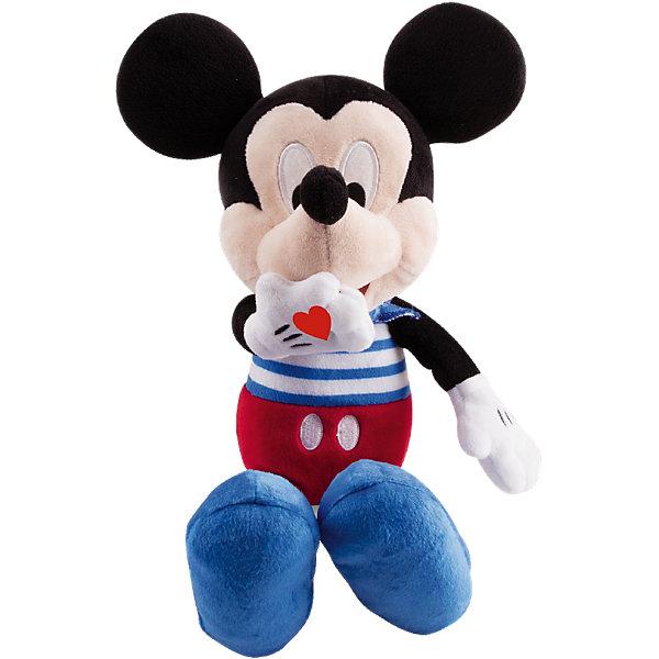 Фото - IMC Toys Disney Мягкая игрушка Микки и весёлые гонки: Поцелуй от Микки (34 см, интеракт., звук) imc toys интерактивная мягкая игрушка imc toys disney mickey mouse микки и весёлые гонки минни маус
