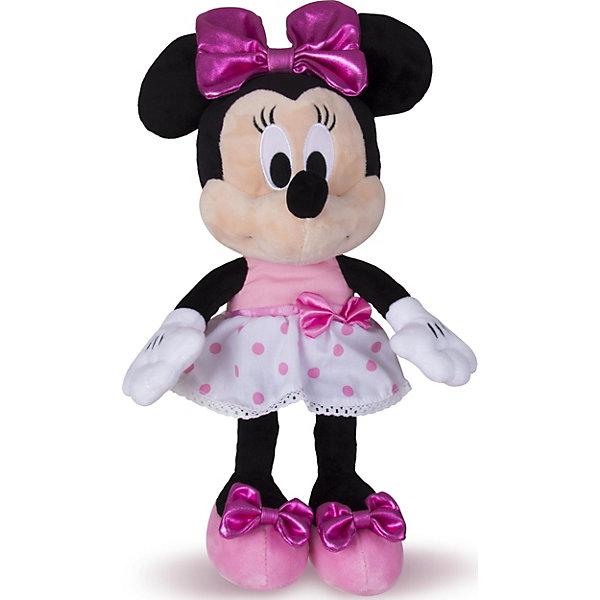 IMC Toys Disney Мягкая игрушка Минни: Минни Маус (34 см, звук, музыка)