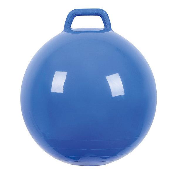 Мяч Прыгун с ручкой, 50 см, синий,