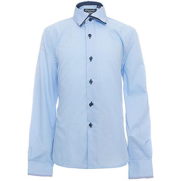 Купить Рубашка PREMIUM SLIM FIT для мальчика Skylake, Россия, голубой, 122, 158, 152, 146, 140, 134, 128, Мужской