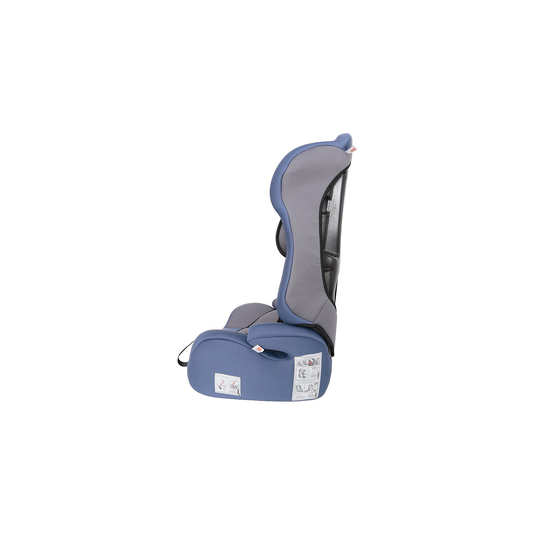 Автокресло Zlatek Atlantic Lu, 9-36 кг, синий