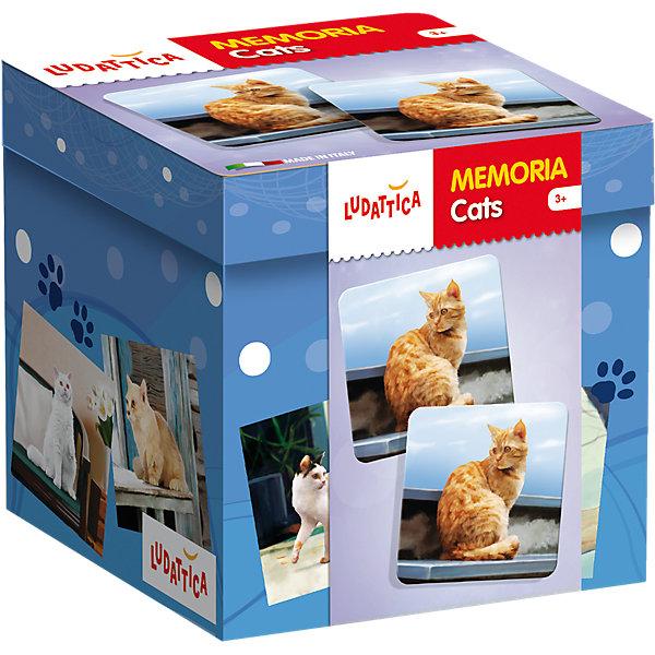 Lisciani LUDATTICA Игра-мемори «КОШКИ» для кошек игра