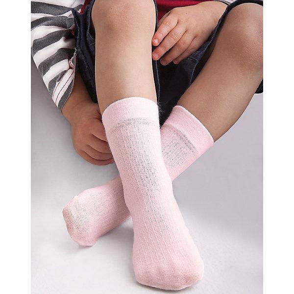 Носки для девочки KnittexНоски<br>Носки для девочки Knittex<br>Вискозные однотонные носки с продольным рельефным рисунком в виде мелкого рубчика. Плотные, мягкие и приятные на ощупь. Широкая резинка, не сдавливающая ногу. <br>Состав:<br>вискоза 65%,                                  полиамид 31%, эластан 4%<br>Ширина мм: 87; Глубина мм: 10; Высота мм: 105; Вес г: 115; Цвет: розовый; Возраст от месяцев: 0; Возраст до месяцев: 18; Пол: Женский; Возраст: Детский; Размер: 18-20,15-17; SKU: 6837357;