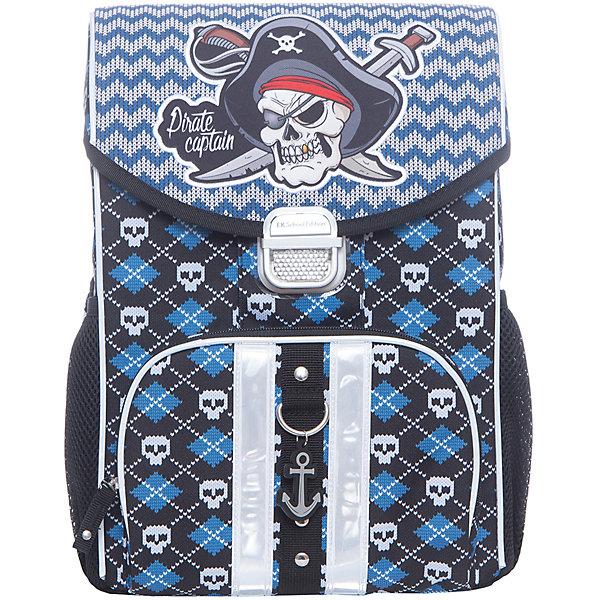 Erich Krause Ранец Erich Krause с эргономичной спинкой Pirates erich krause рюкзак школьный альянс мстители multi pack mini